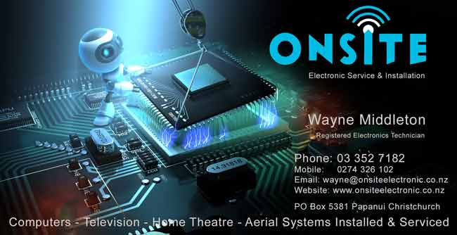 Onsite Electronic Service & Installation